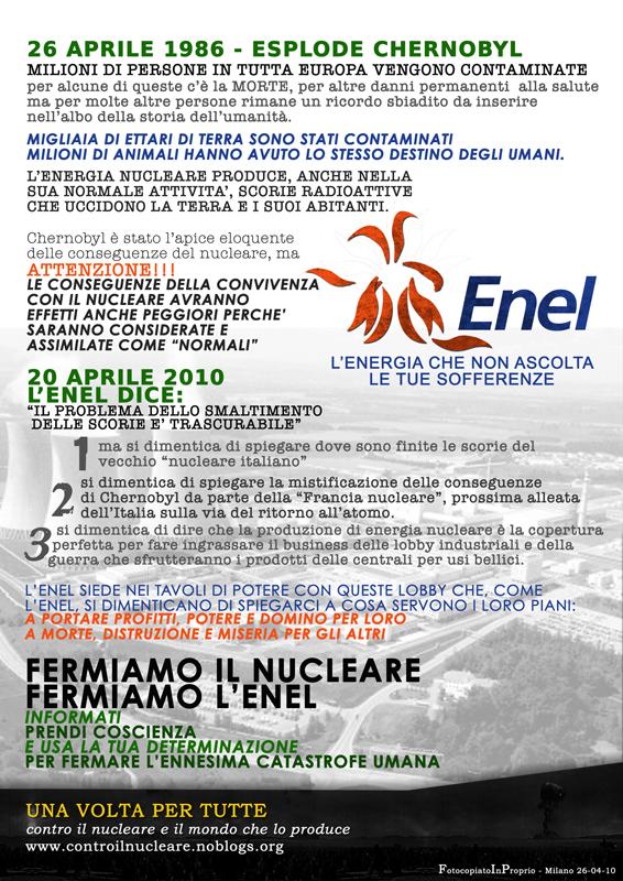 Poster Enel 26 Aprile